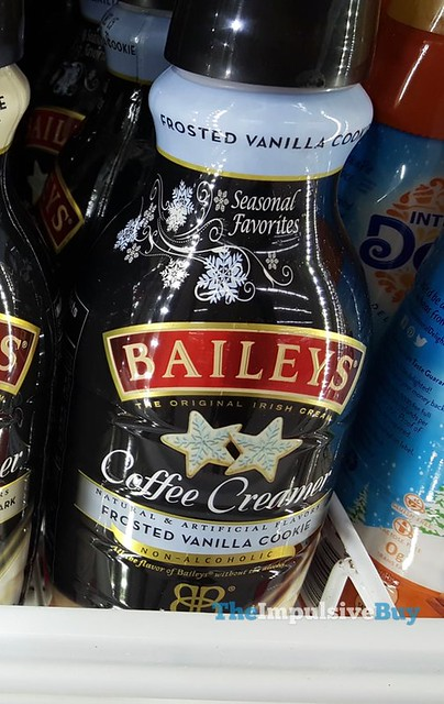 Bailey's Seasonal Favorites Frosted Vanilla Cookie Coffee Creamer