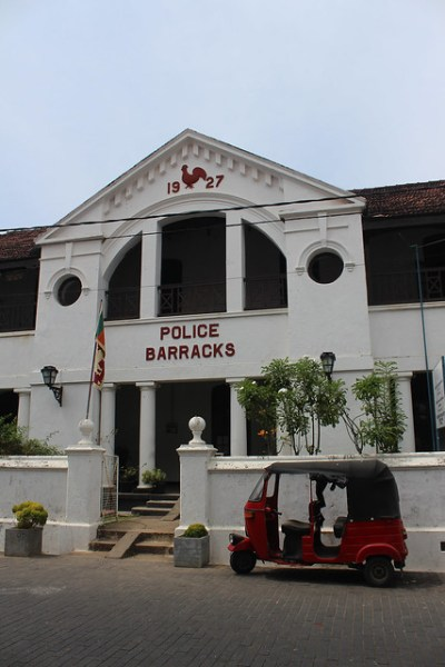 Galle Police Barracks