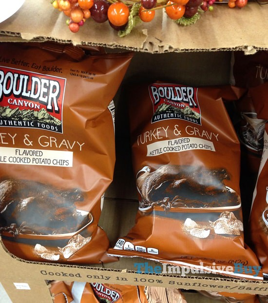 Boulder Canyon Turkey & Gravy Kettle Cooked Potato Chips