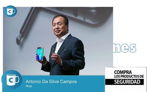 #ConCafeTV Así son los nuevos Samsung Galaxy S6 EDGE + y Note 5 President JK Shin Samsung Electronics