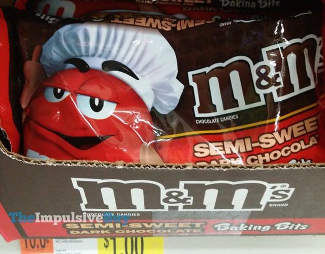 M&M's Semi-Sweet Dark Chocolate Baking Bits