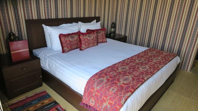 arabian nights village tent bedroom