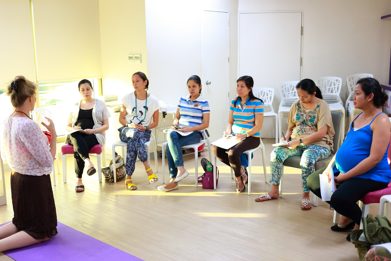 Gentle Birth Seminar by Irini Otmakhova