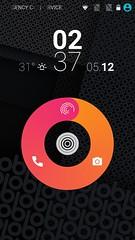 หน้าจอ Lock screen ของ obi worldphone sf1