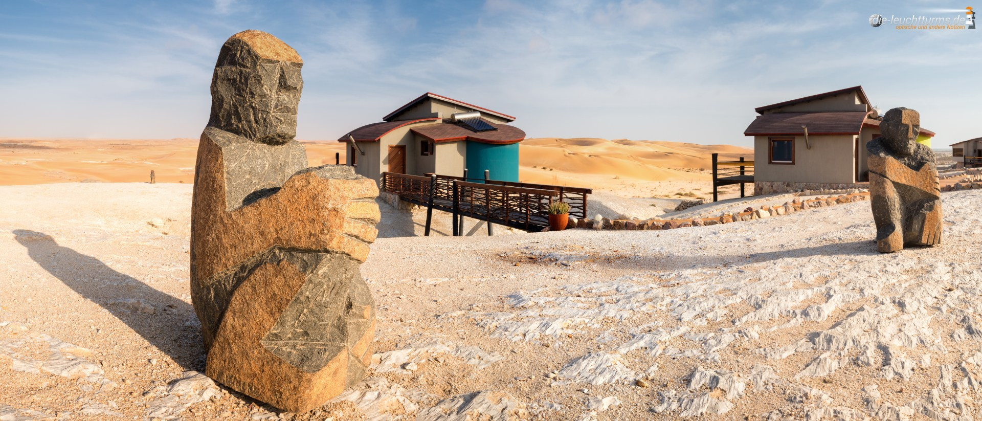 Stay at the edge of the Namib