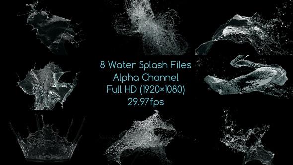 Organic Liquid Splash Logo - 48