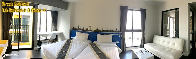 iSanook Residence Bedroom Panorama