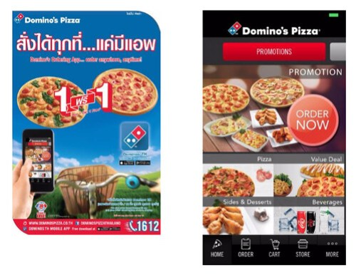 Domino Pizza App