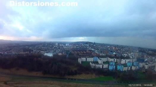 Edimburgo desde el parque de Holyrood