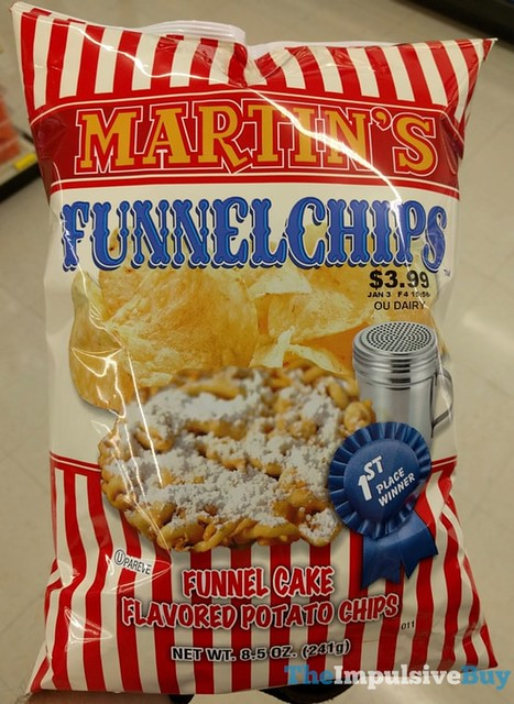 Martin's Funnel Cake Flavored Potato Chips