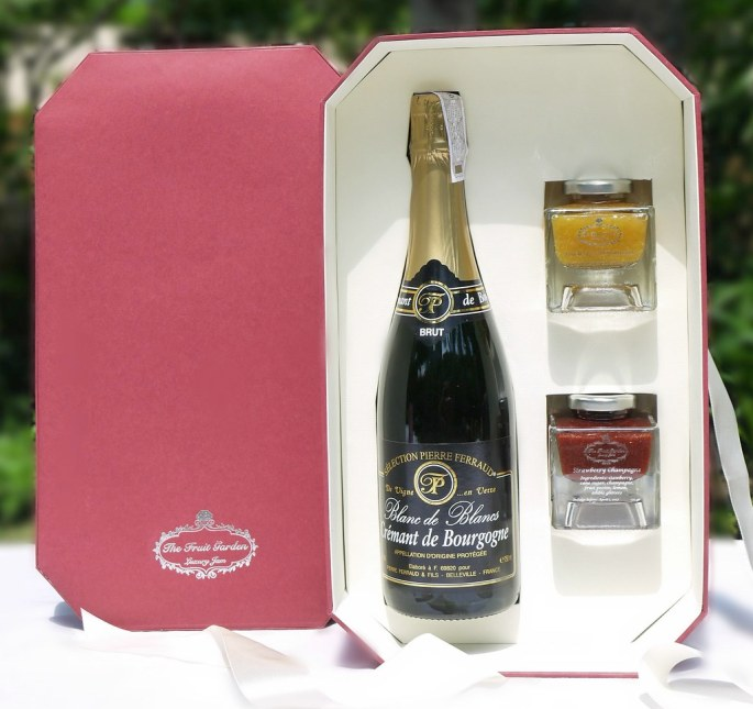 The Champagne coffret