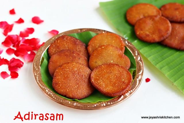 Adirasam- diwali sweet