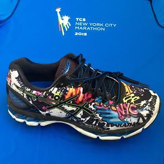 ASICS Gel Nimbus Maratón Nueva York 2015