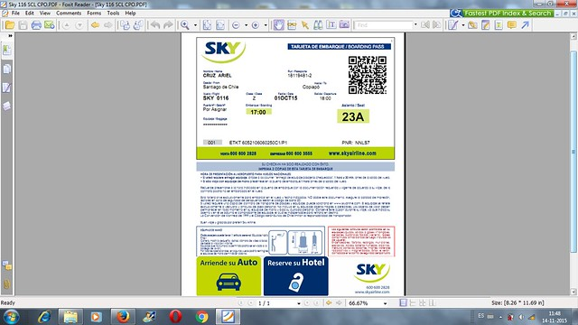 Tarjeta Embarque Sky PDF
