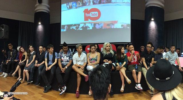 Youtube Fanfest Singapore Youtubers