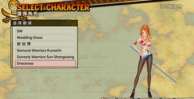 One Piece Pirate Guerriers 3 Nami Mod