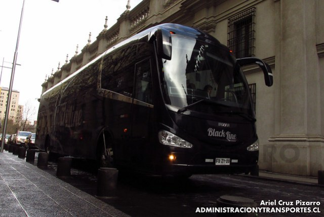 Yanguas Black Line - Santiago - Irizar I6 / Mercedes Benz (FXZY20)