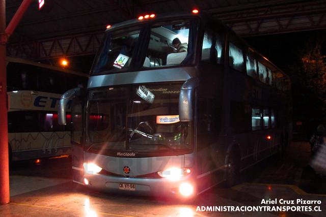 Buses ETM - Temuco - Marcopolo Paradiso 1800 DD / Scania (CKVY56)