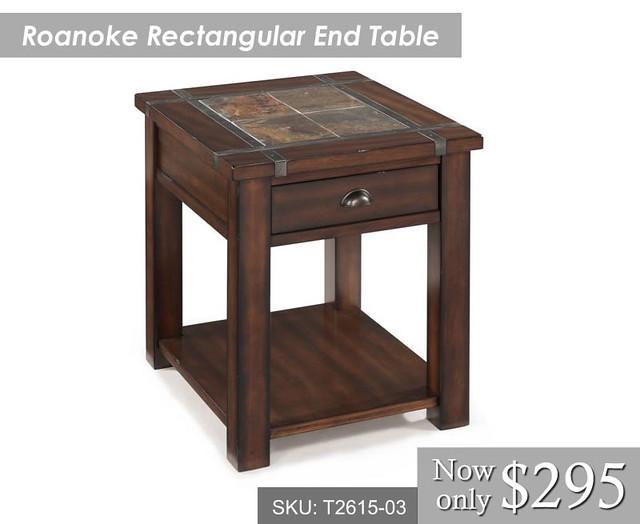 Roanoke End Table