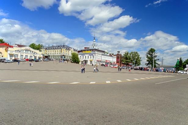Revolution Square, Kineshma, Ivanovo Oblast, Russia