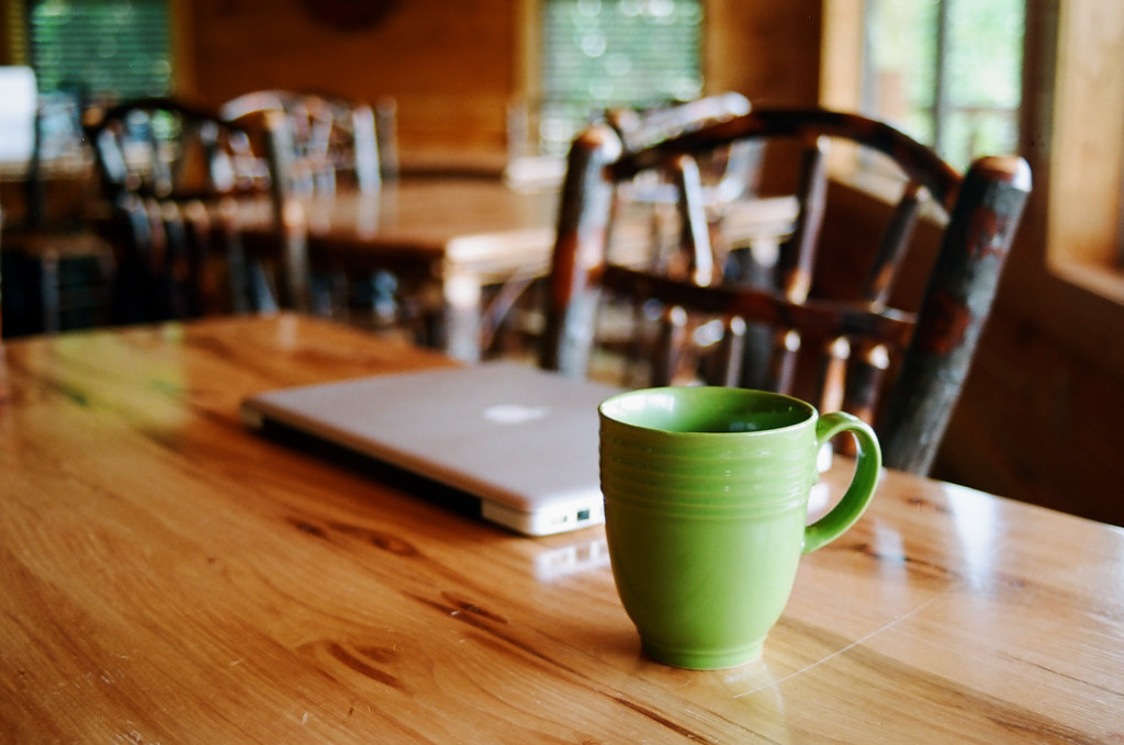 Cofee and Macbook