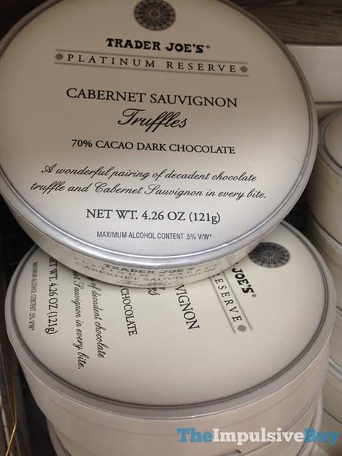 Trader Joe's Platinum Reserve Cabernet Sauvignon Truffles