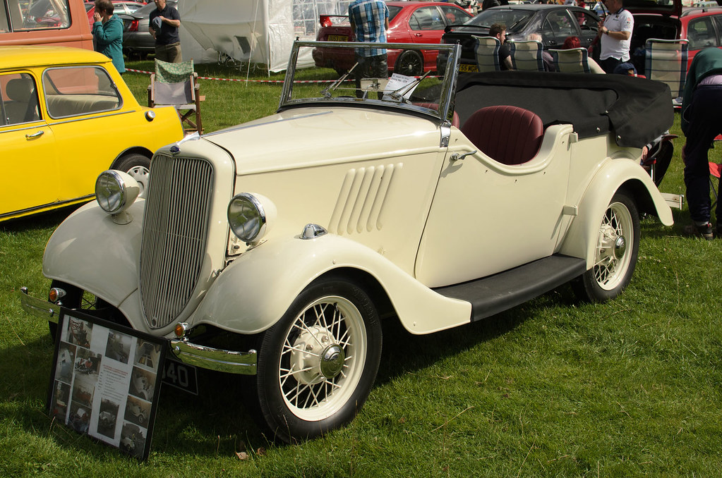 Ford Model Y Tourer By Bradshaw Coachworks 1935 St Asaph