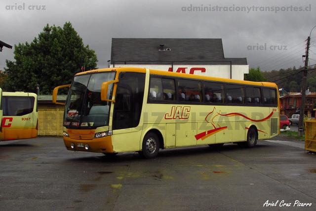 Jac - Pucón - Busscar Vissta Buss LO / Mercedes Benz (UY2603)