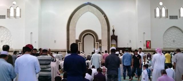 al ain mosque inside
