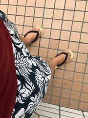 まだ夏の装い