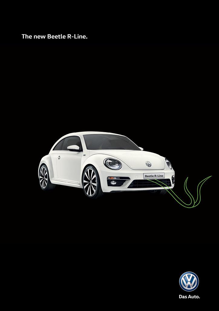 Volkswagen Beetle R-line - Snake