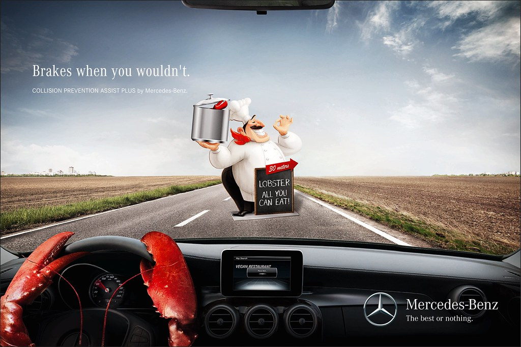 Mercedes Benz - Lobster