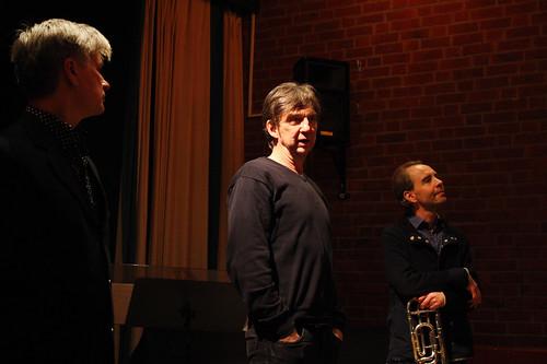 Jonny Axelsson, David Swärd och Ivo Nilsson