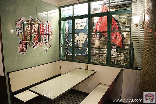 [香港]中環星巴克.冰室角落『復古冰室風情』~老回憶與新口味.融入不同的視覺設計 @VIVIYU小世界