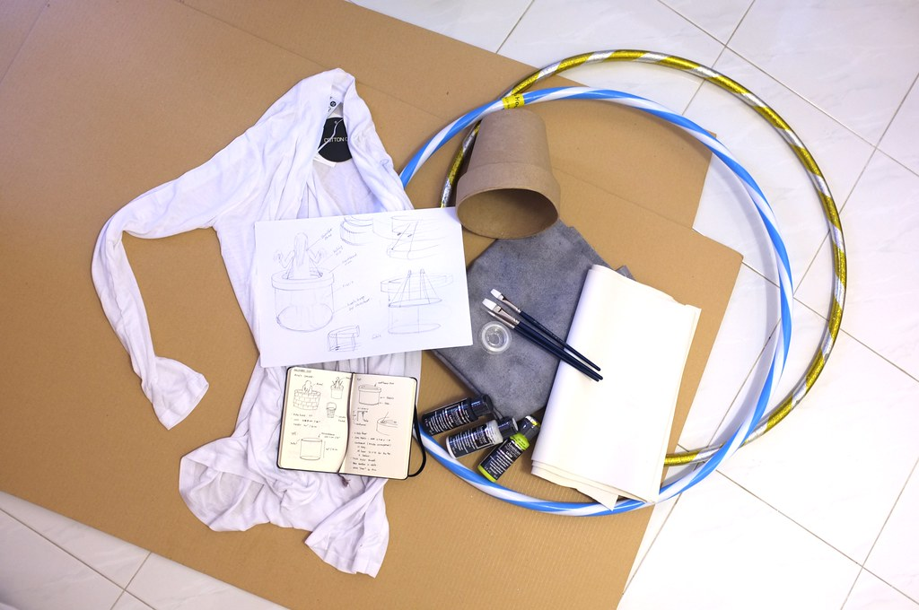 the making of Sadako costume