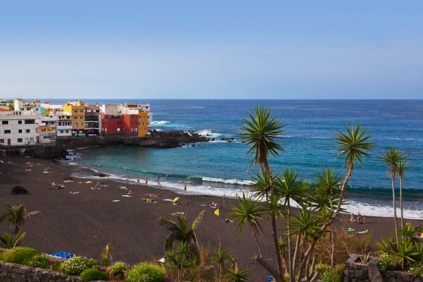 Playa Jardín Puerto de la Cruz