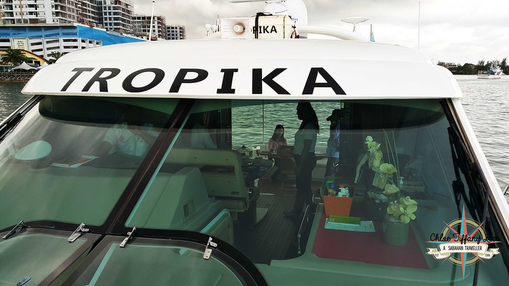 TROPIKA Leisure yacht for events or sunset cruise in Kota Kinabalu, Sabah, Chloe Tiffany Lee (5)