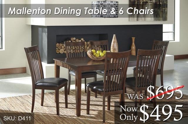 Mallenton Dining Set D411