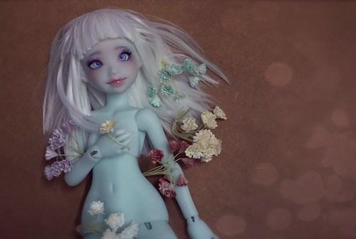 Iced blue Nena02 Reira ~ Atelier Momoni Doll +