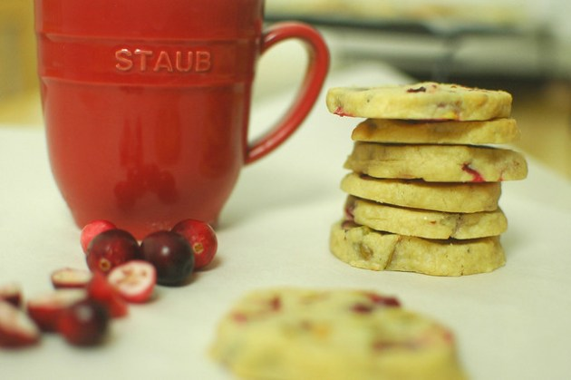 Cranberry And Pistachio Biscuits