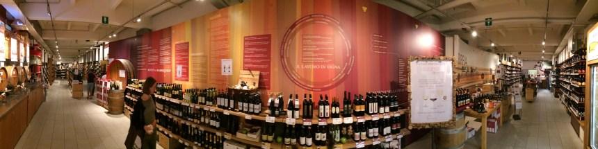 Eataly - winecellar 02