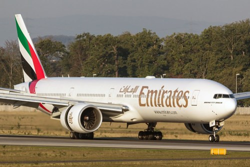 Boeing 777-31HER Emirates A6-ENF (FRA)