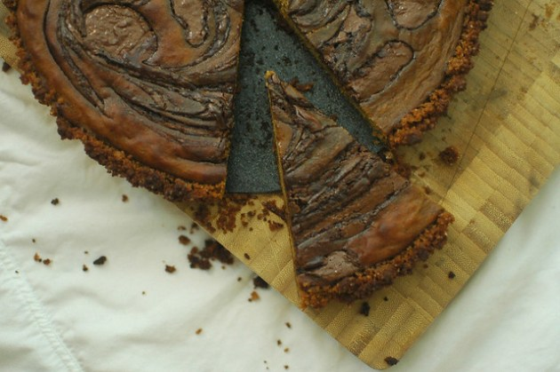 Pumpkin & Nutella Pie