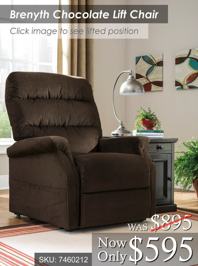 Brenyth Chocolate Lift Chair
