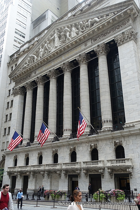 New York City, City Sightseeing, Lower Manhattan, Wall Street, NYSE, New York Stock Exchange