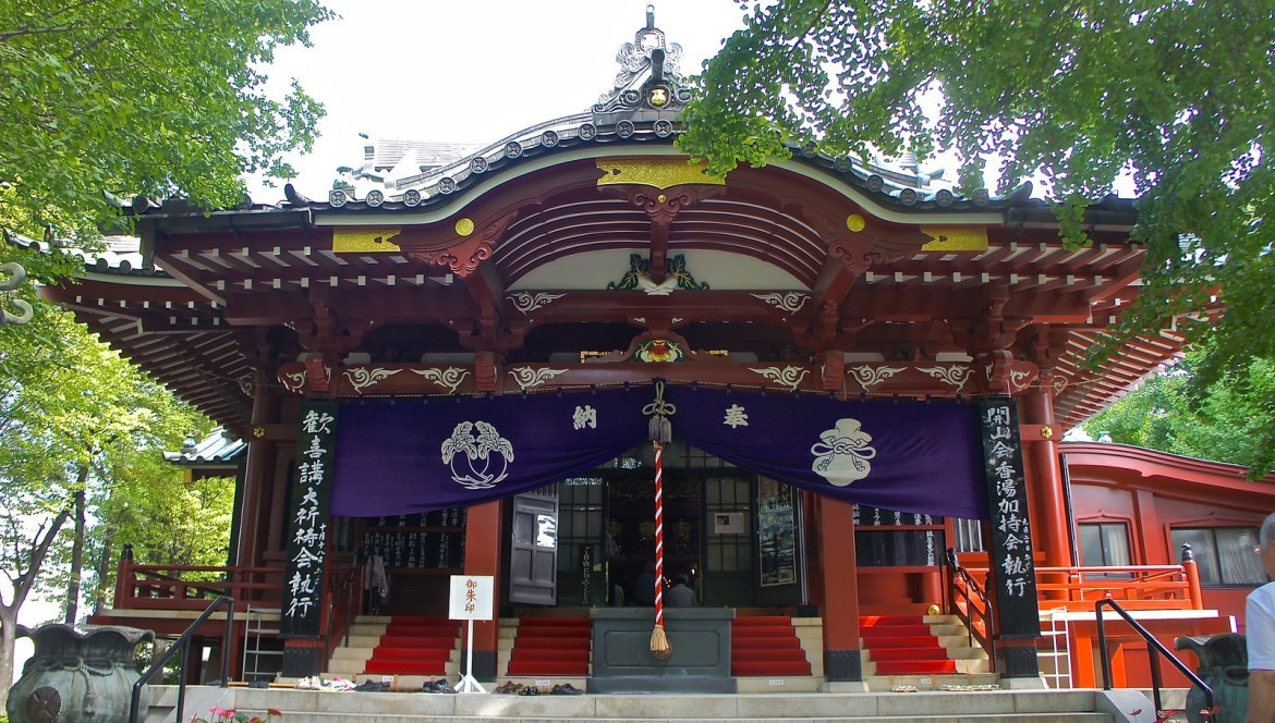 Ganesha Temple in Japan at Asakusa