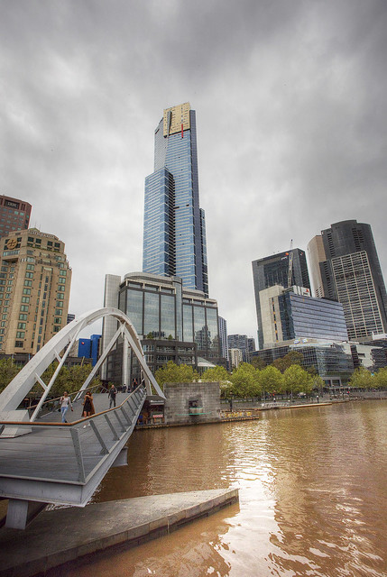 Eureka Tower, Melbourne.