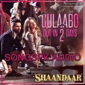 Gulaabo Shaandaar Hindi Movie Audio Songs Mp3 Download.