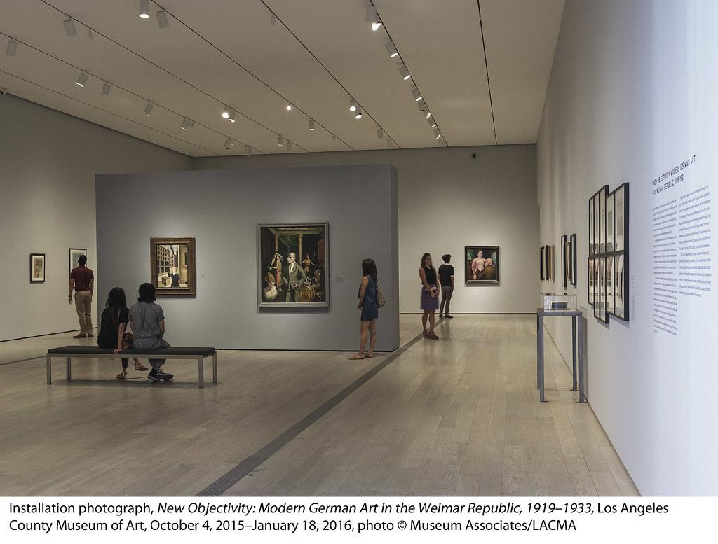 New Objectivity: Modern German Art in the Weimar Republic, 1919–1933