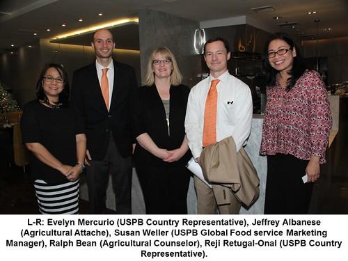 USPB & USDA Representatives at the USPB Thanksgiving Dinner